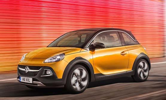 Opel Adam Rock красивый, надежный, но не в России
