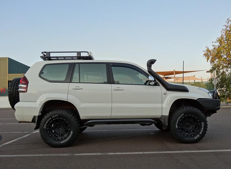 toyota prado lifted