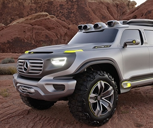 4x4 Mercedes