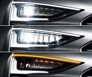 Светодиодные матричные фары на массовых автомобилях