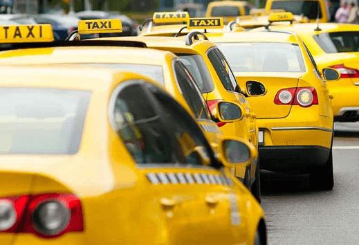 Печать логотипа на такси