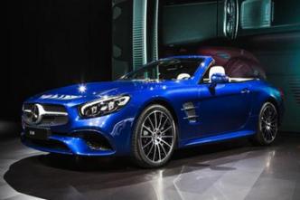 Mercedes-Benz SL550 2017