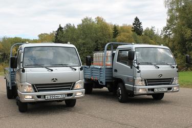 Китайские грузовики - BAW