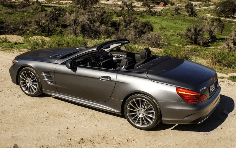 Новый Mercedes-Benz SL550