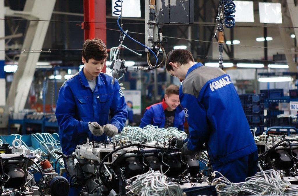 Двигатель Р6 к грузовику КАМАЗ