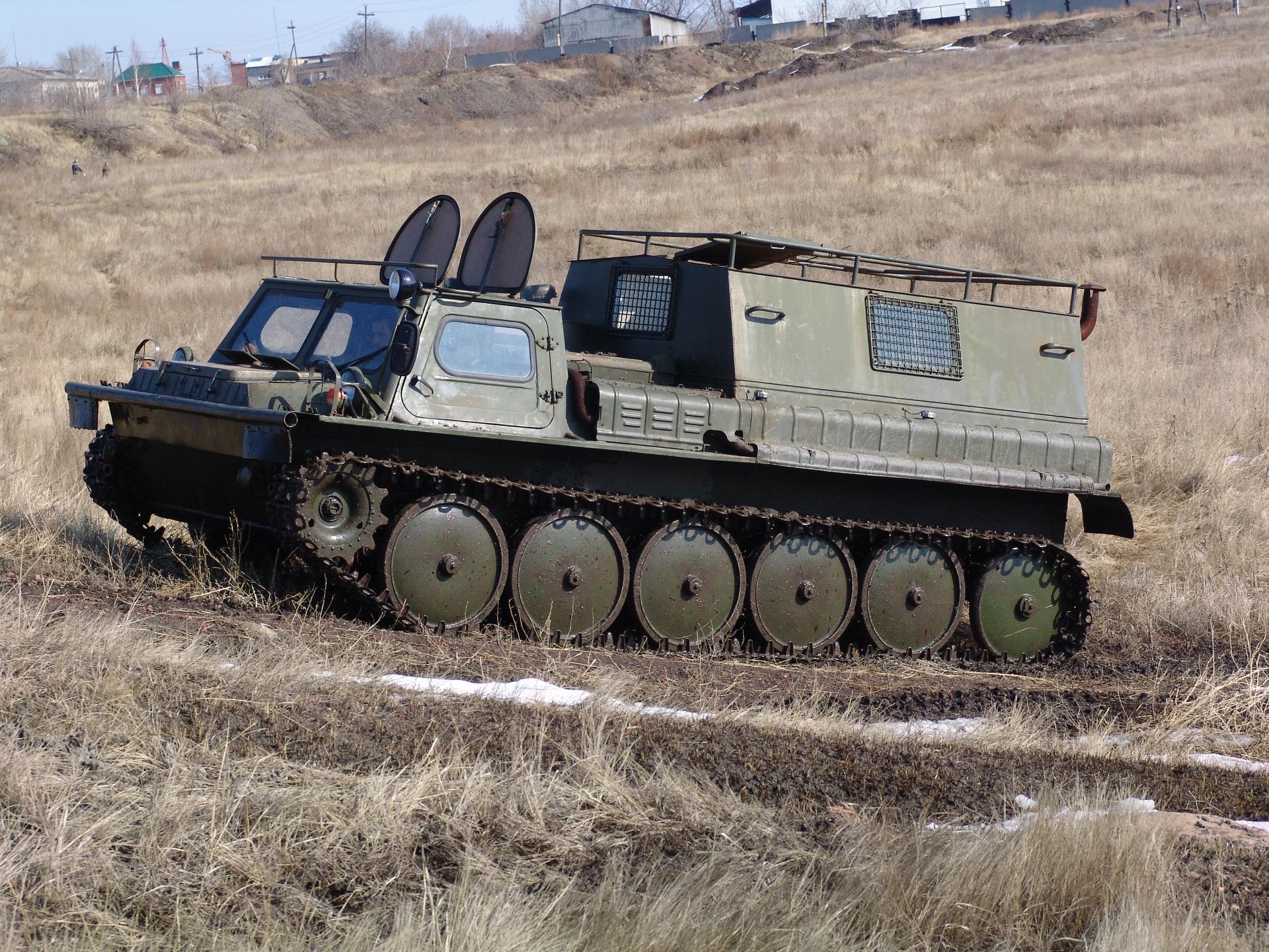ГАЗ-71, технические характеристики
