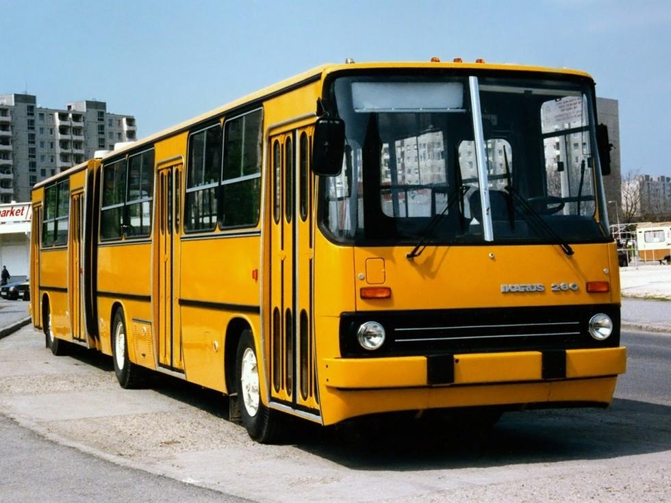 Икарус 280 - популярный городской автобус