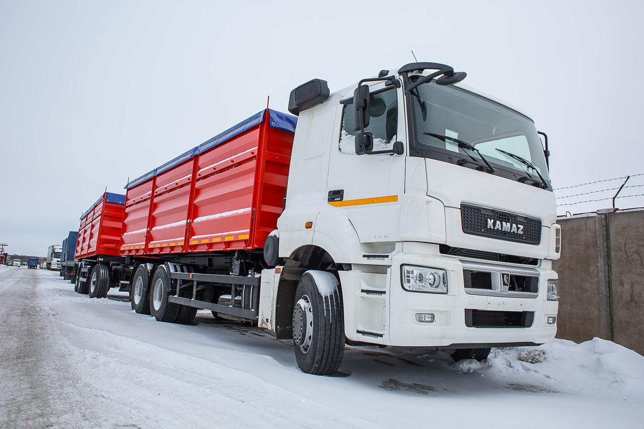 Камаз-65207 (зерновоз) характеристики и цена, фотографии и обзор - perevozka24.com
