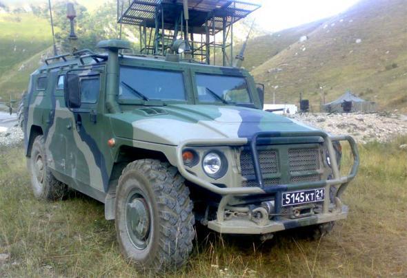 """ГАЗ-233114 """"Тигр"""""""