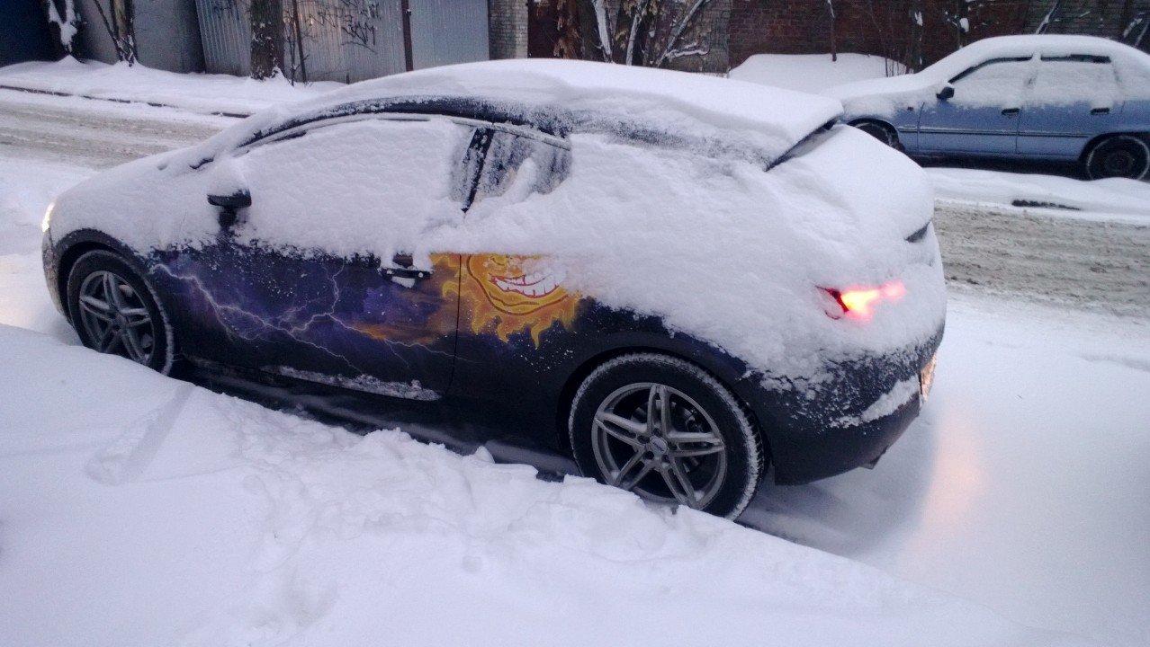 как завести машину в мороз