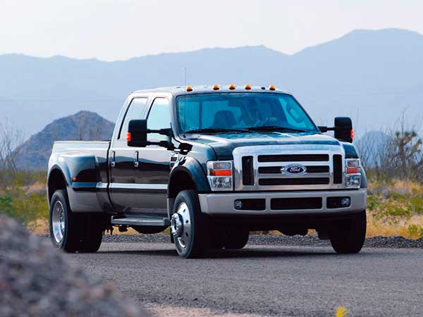 Виды грузовиков Ford