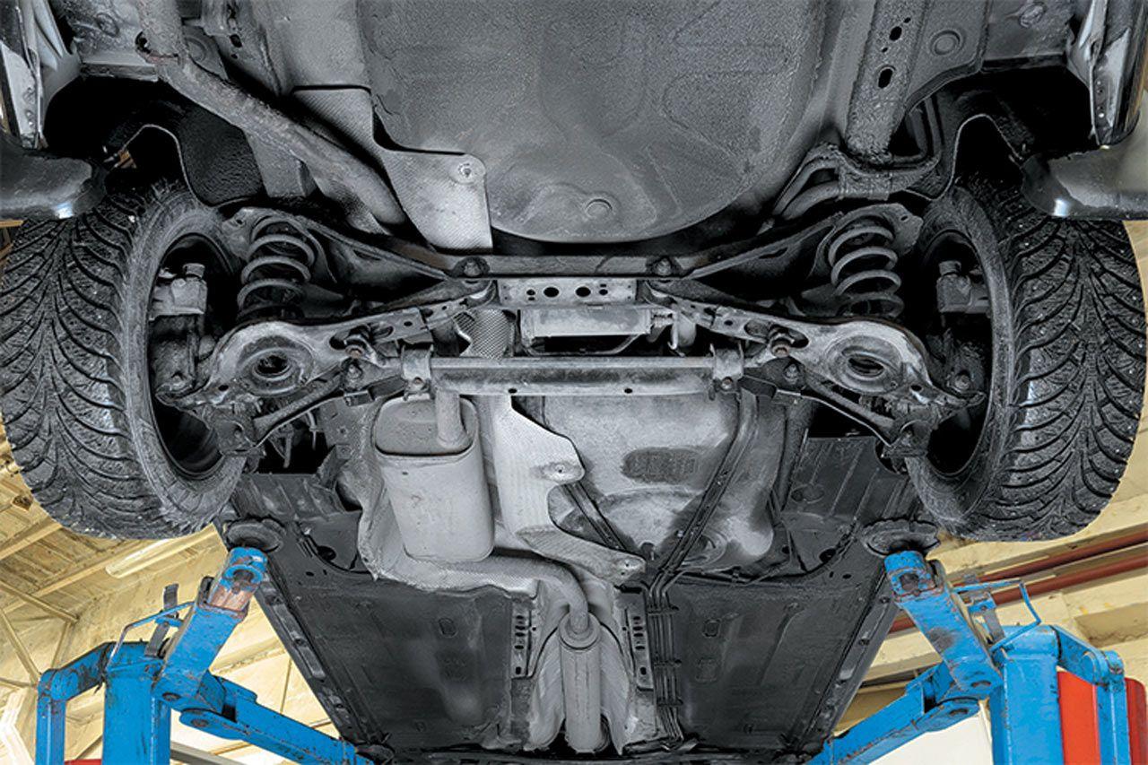 задняя подвеска форд фокус 2 схема ремонт