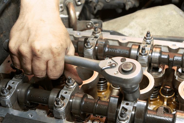 Техобслуживание двигателя